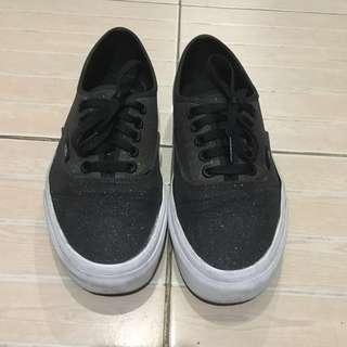 Vans Black Glitter Ombre Shoes