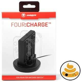 Switch Joy-Con Charger SNAKEBYTE Four : Charge