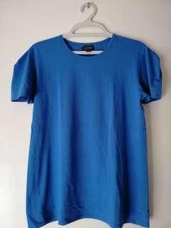 For Me plain blue shirt