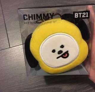 OFFICIAL BT21 CHIMMY KEY RING