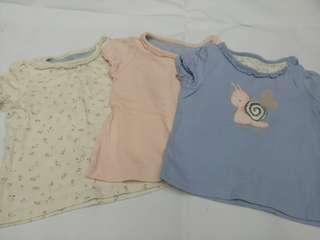Baby girl 3pcs tops
