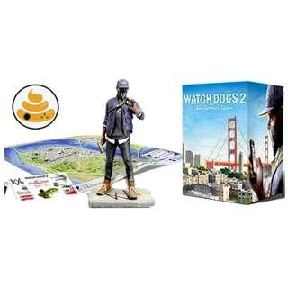 Action Figure & CD PS4 WATCH DOGS® 2 - SAN FRANCISCO EDITION