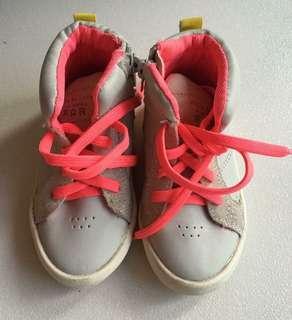 Zara highcut shoes