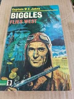 Biggles Flies West - Captain W.E.Johns