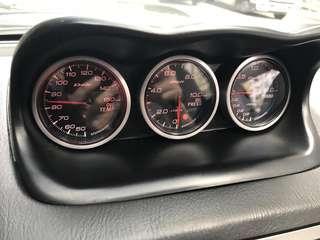 正貨 Defi 套裝 - 全套 Sensor及控制器 -油溫油壓Turbo 表
