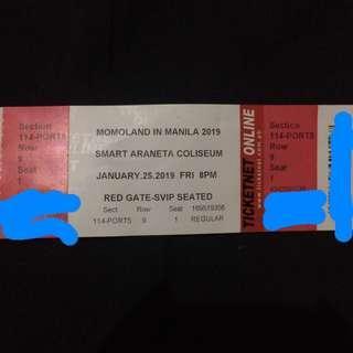 VIP MOMOLAND Fan Meeting Ticket