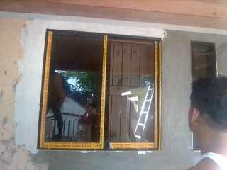 SLIDDING WINDOW,SCREENDOOR and other aluminum glass works.  pm. or call 09491532508-09065617369 FREE ESTIMATE! FREE SITE VISIT!