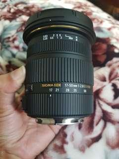 🚚 Sigma17-50mm f/2.8 EX DC OS HSM Lens for Canon EF