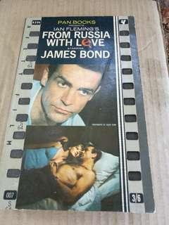 From Russia with Love staring James Bond - Ian Fleming