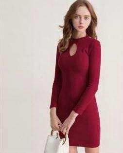 [IN STOCK] Red Bodycon Dress