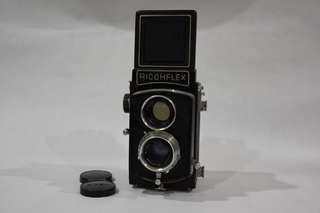 Ricohflex vintage film twin lens camera