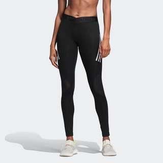 Adidas Alphaskin Sport 3-Stripes Long Tights