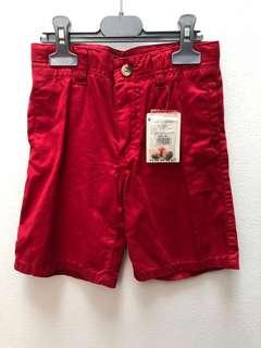 Red short boys size 6