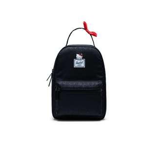 9a4da34b636c Japan Sanrio x herschel Fifteen Nova Backpack Mini Hello Kitty ( Black )