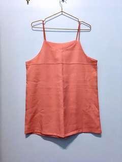 🚚 #1907粉紅吊帶洋裝