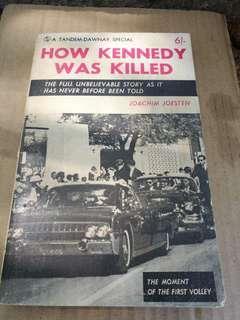 How Kennedy was Killed - Joachim Joesten