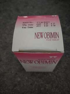 New obimin tablets