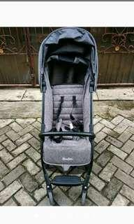 Preloved stroller cocolatte iconic+