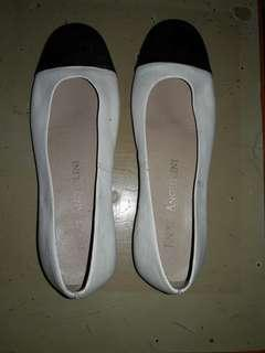 REPRICED!!!Ladies white shoes