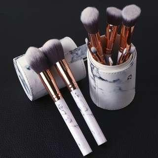 Makeup Brushes + Holder (Reduced Price!!)
