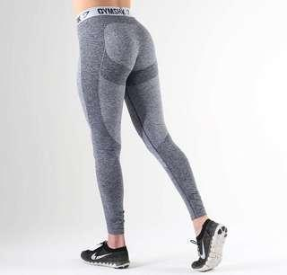 Gymshark Flex Leggings Sapphire Blue/ light grey