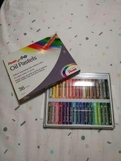 New Pentel Arts Oil Pastels 36 colors