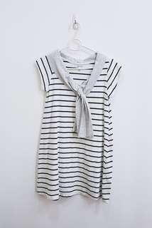 Striped Sailor Style Dress
