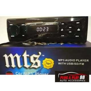 MTS Car Player USB SDcard Mp3 Aux Connect to Phone