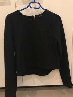 Portman's Black Sweater
