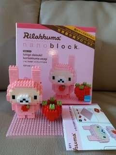 nano block Rilakkuma