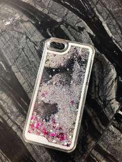 Ip5/5s/SE liquid glitter Phone case