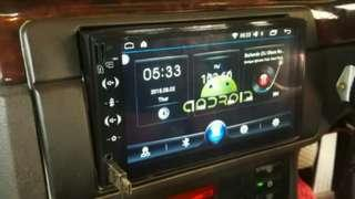 Car Android Player direct download gps, youtube, maps, waze + bluetooth connect function