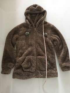 Bear eared fleece