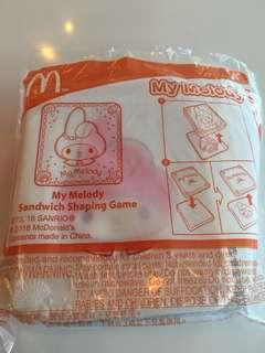 McDonald's My Melody Sandwich Shaping Game