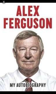 Alex Ferguson: Autobiography (still in platic wrap)