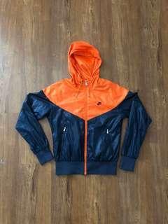 Nike Windrunner Navy/Orange