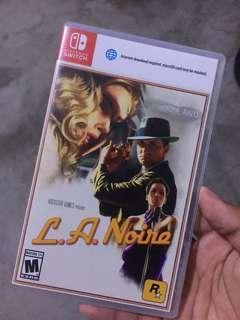L.A Noire (Nintendo Switch Game)