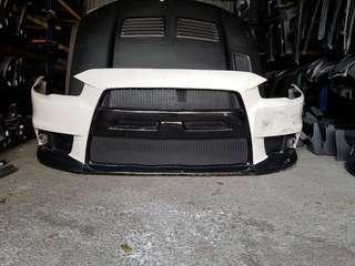 Proton Inspira/Mitsubishi Lancer Evo10 PU front bumper