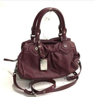 Authentic Marc By Marc Jacob Baby Grooved Two Way Handbag