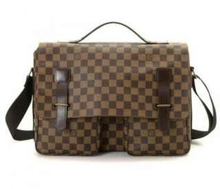 Jual Tas Louis Vuitton Broadway original second preloved bekas authentic branded lv bag