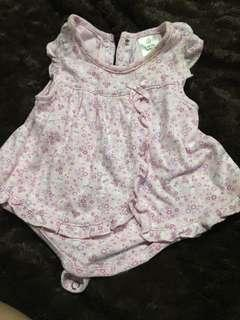 Dress for  babygirl ahea 0-3 mmths cute cute on actual