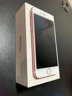 🚚 iPhone 7 128G 玫瑰金