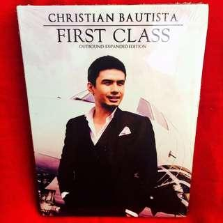 Christian Bautista-First Class (Outbound - Expanded Ed.)(CD)(Sealed)