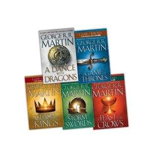 🚚 🔥A Game of Thrones 5 Books Set