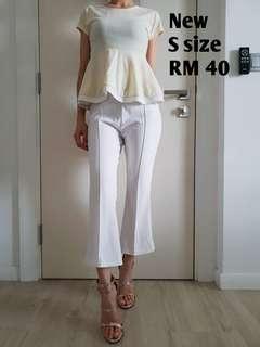 Peplum blouse #CNY888