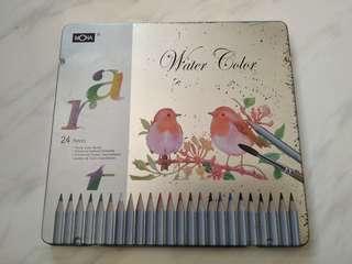 🚚 24色水性色鉛筆