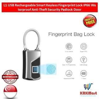 Smart keyless fingerprint Padlock Luggage