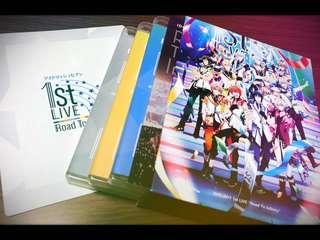 IDOLISH7 1st Live Road To Infinity Blu-ray Box Limited Edition