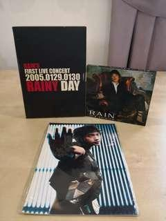 RAIN - It's raining CD + 2005 rainy day live concert