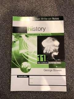 Level 1/Form 5 History